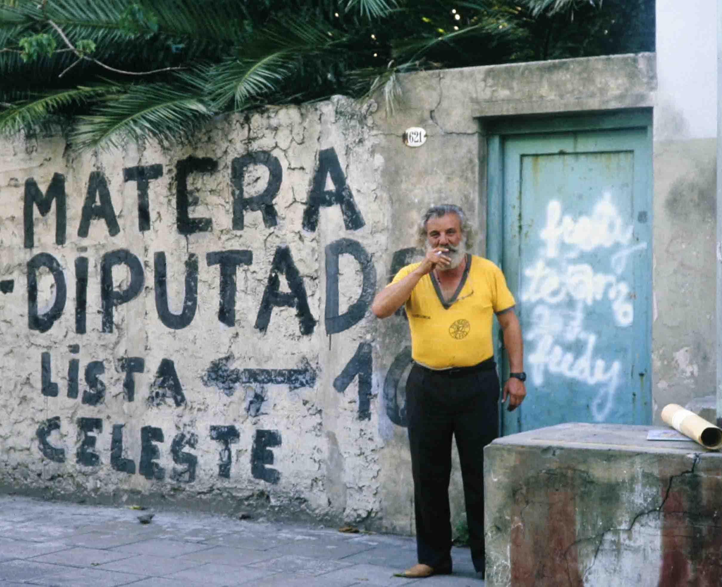 Buenos Aires, im Dezember 1987; Photo W. Stock