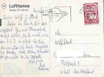 Wie Schreibt Retainer Eine Postkarte