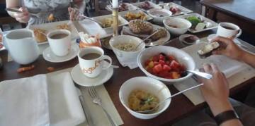 Frühstück in der Sansibar, Sylt