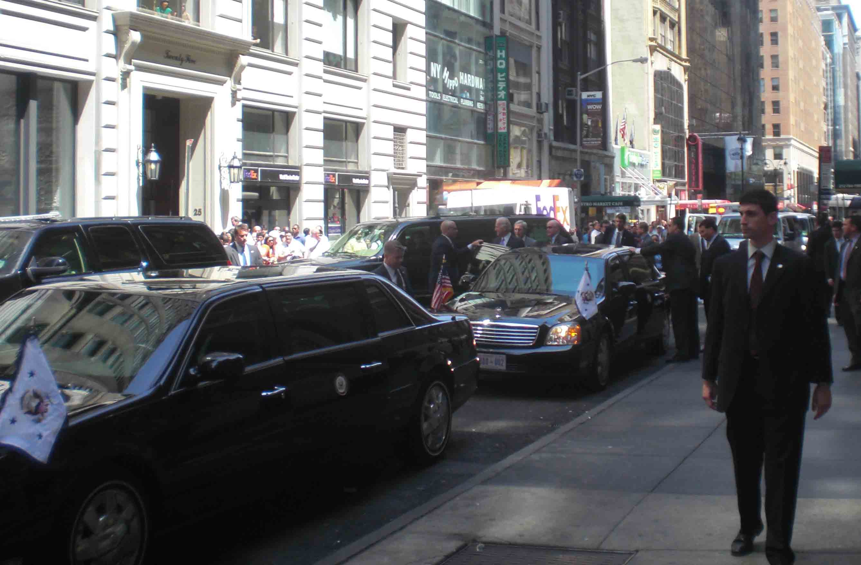 Joe Biden in New York