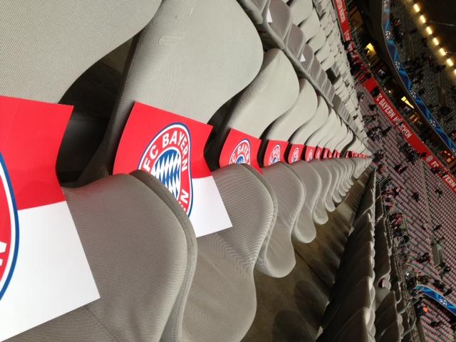 FC Bayern München Sitze