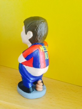 Caganer Lionel Messi Photo by W. Stock