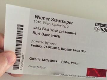 Burt Bacharach Wiener Staatsoper